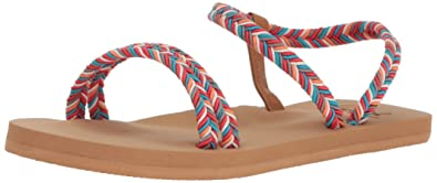 da6c06c1a482 Amazon.com  Roxy Women s Luana Strappy Sandal Flip Flop  Shoes