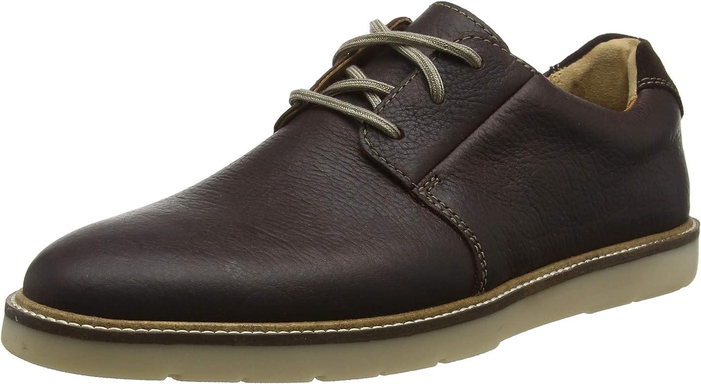 Clarks Grandin Plain, Zapatos de Cordones Derby para Hombre