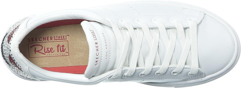 Skechers Side Street Love Is Blind, Sneaker Donna, Bianco