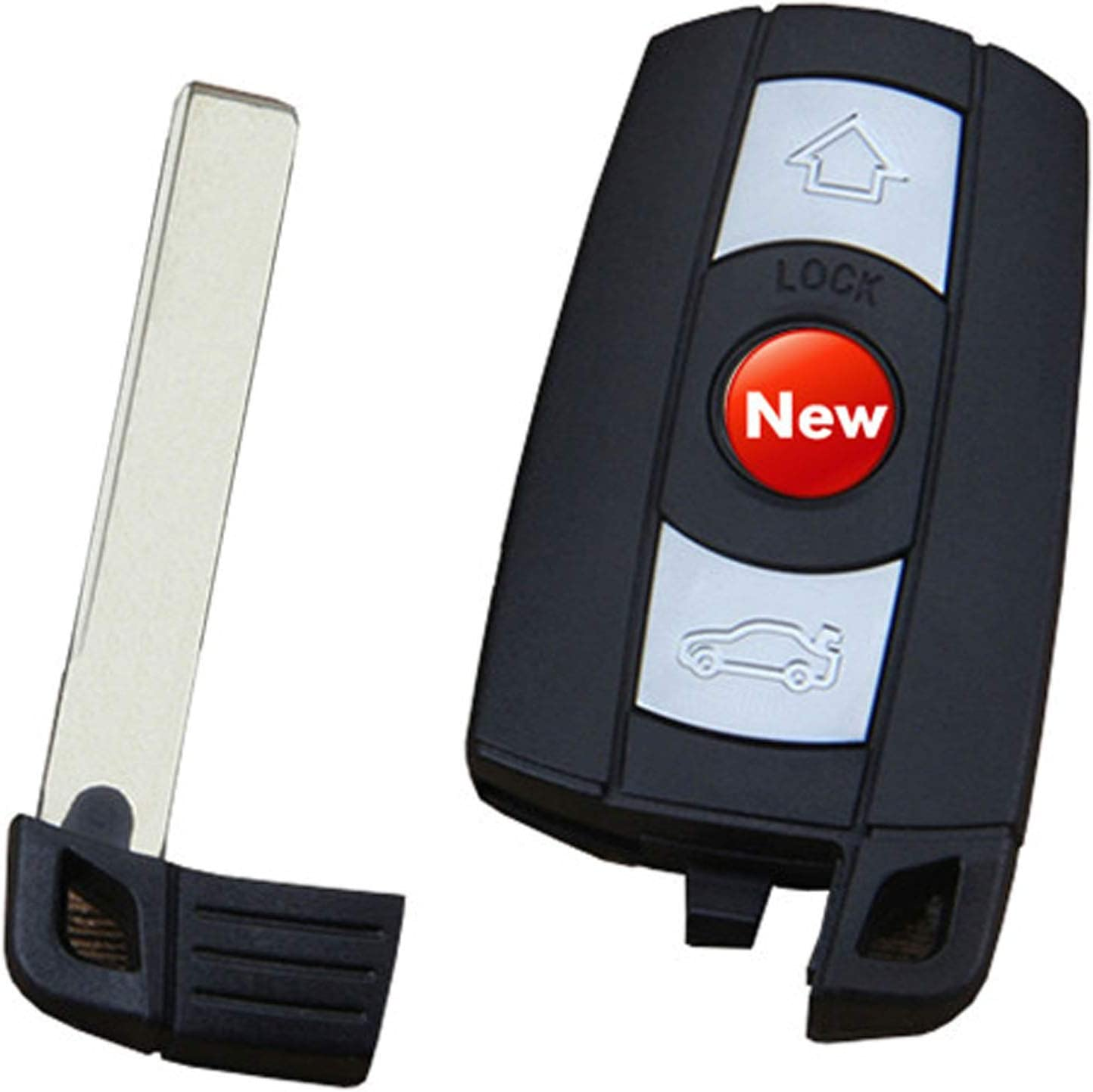 New Replacement for Key Fob Case Housing Keyless Entry Remote Key Fob Fit for BMW 1 3 5 6 7 E90 E93 E92 M3 M5 X3 X5
