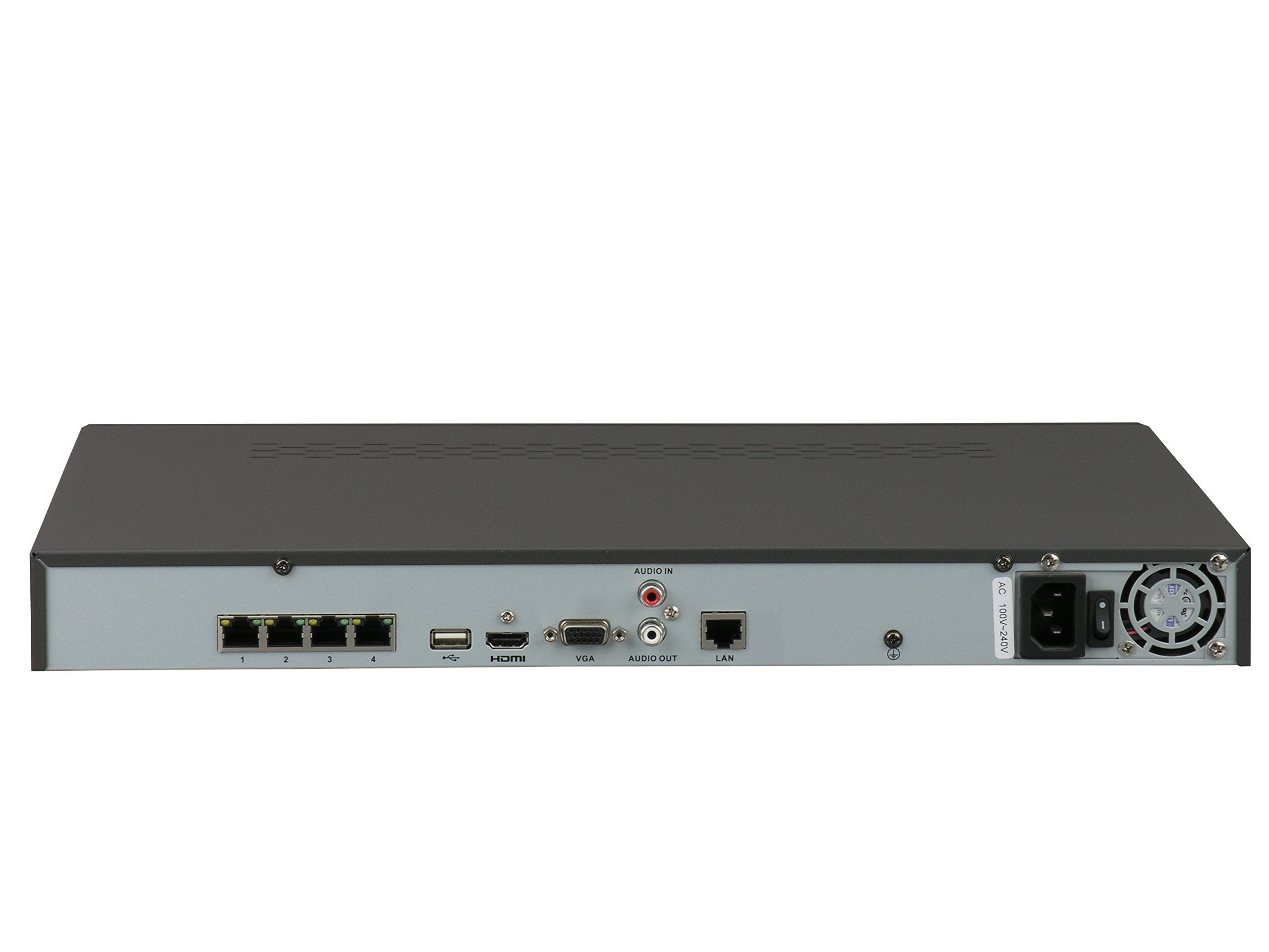 HIKVISION DS-7604NI-E1/4P 4CH PoE NVR Network Video Recorder with up to 5MP Resolution Recording Includes a 1TB Hard Drive by Hikvision (Image #2)