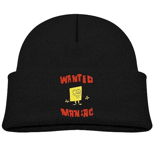 531872c3c9606 Amazon.com  Spongebob Squarepants Kids Winter Knitted Hat