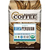 Peruvian Decaf Organic Fair Trade Coffee - SMBC, Whole Bean, Water Processed Decaf Coffee, Fresh Roasted Coffee LLC. (2 lb.)