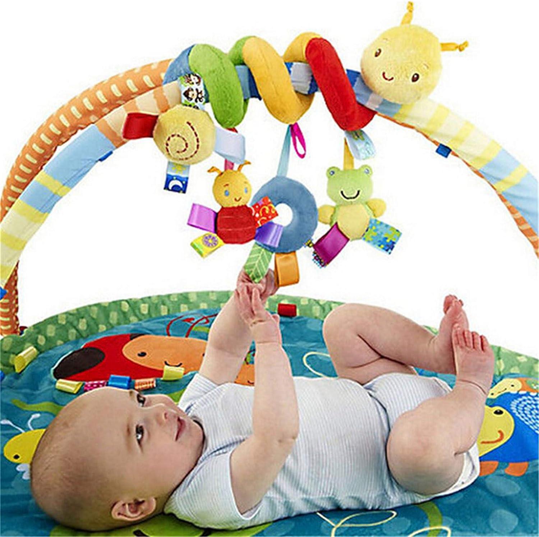 Flybloom Infantile b/éb/é ver lit de b/éb/é lit b/éb/é activit/é en Spirale Jouets Suspendus Poussette Jouets hochet Jouets pour Tout-Petits