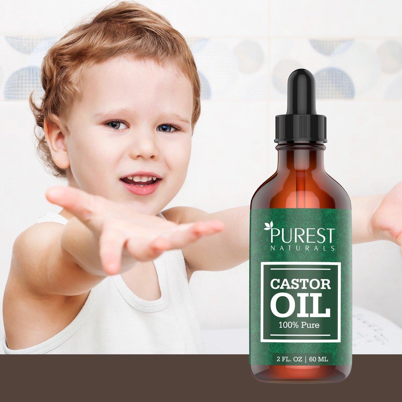 Amazon.com: Aceite de ricino orgánico Purest Naturals ...