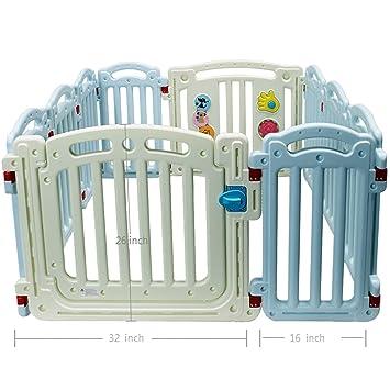 Yacul Baby Playpen Activity Mat Sheet