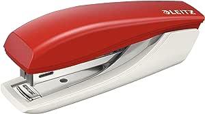 Leitz 55170025 Zımba 10 Sayfa Kapasiteli, Kırmızı