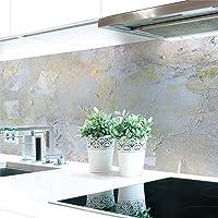 Keuken achterwand schilderij abstract premium hard PVC 0,4 mm zelfklevend - direct op de tegels, grootte…