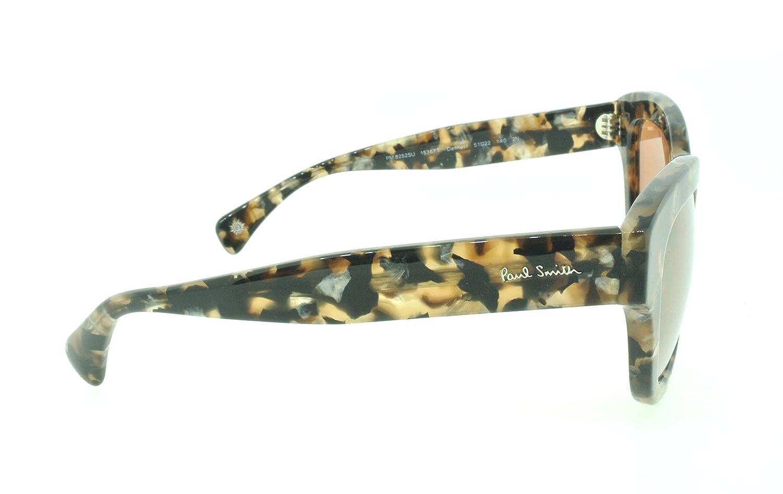 e3bcdc8dd4318 Amazon.com  Paul Smith Sunglasses PM 8252SU Dennett 1536 7T Brown Confetti    Peach Gold Mirror  Clothing