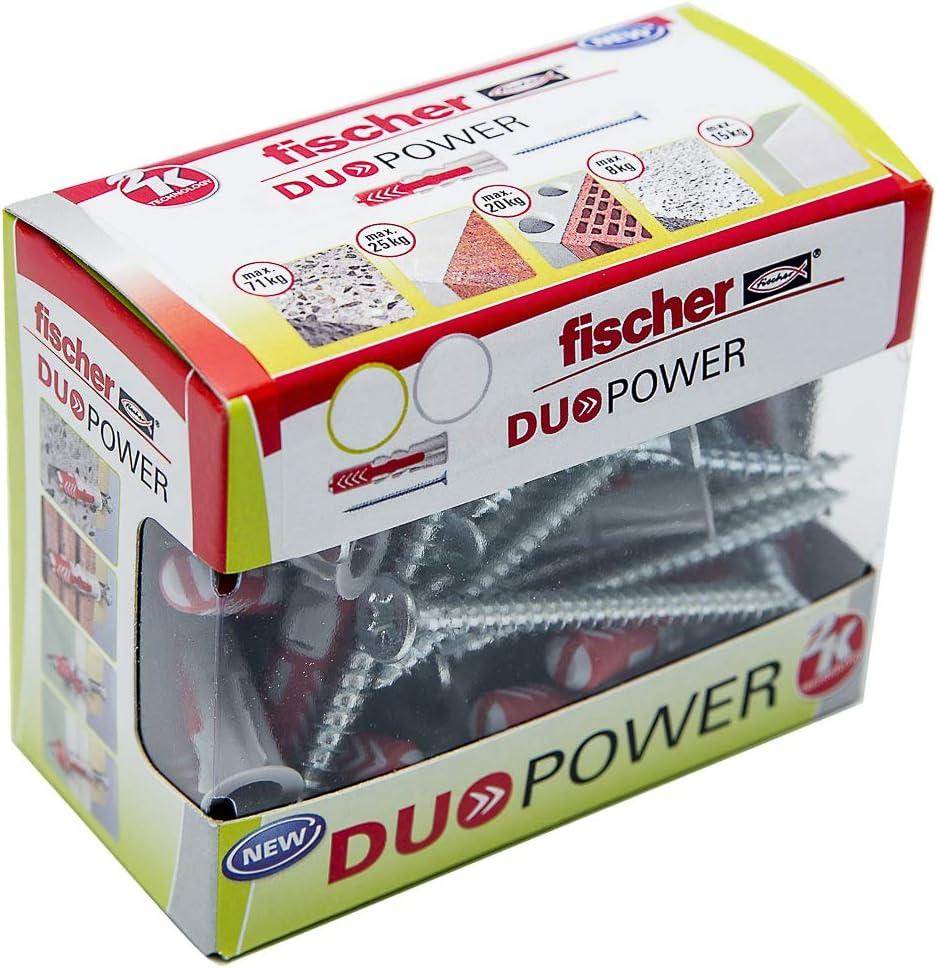 Fischer Box 10 Units Duopower Cue 10 x 50 S//Brico // 10C 536392