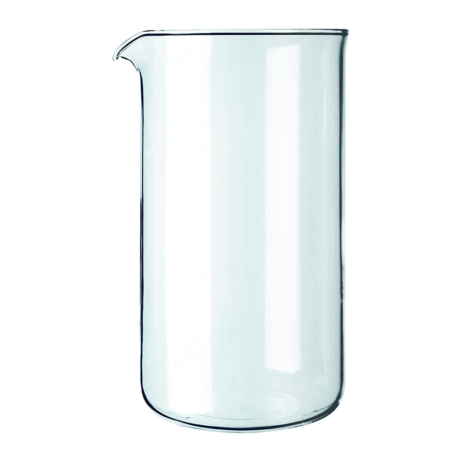 Bodum Spare Beaker/Glass with Spout for Coffee Makers Transparent 1503-10