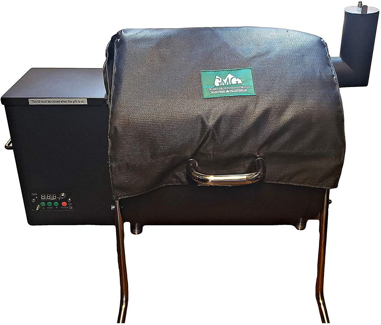 The Green Mountain Grills 6012 Davy Crockett Heavy-Duty Weather-Resistant Insulated BBQ Grill