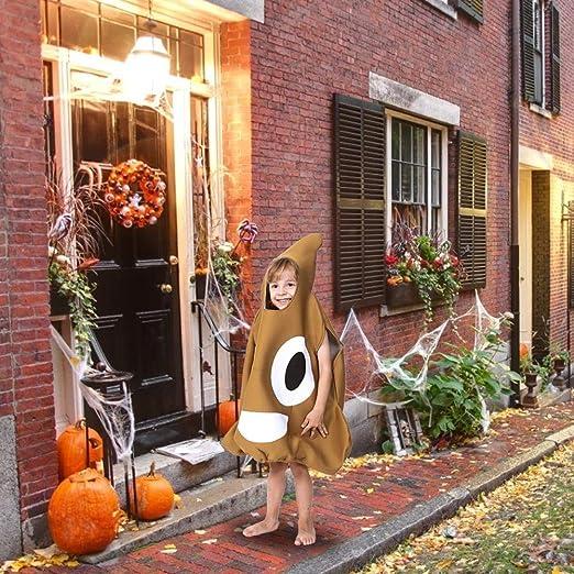 dream-cool Disfraz de Halloween Disfraz de heces Esponja Heces ...