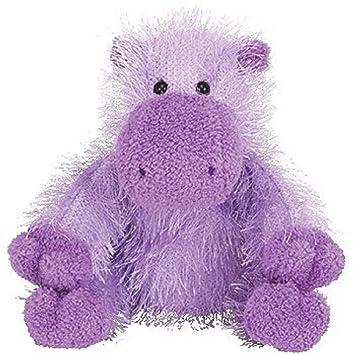 c7f10b108c9 Ty Beanie Baby Punkies - Slim the Hippo  Amazon.co.uk  Toys   Games