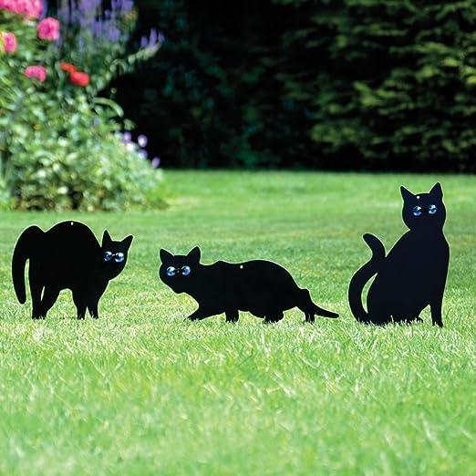 2 opinioni per PestExpel da 3 Gatto In Metallo (Uccello, Animale,Fox, Peste) Spaventatori,