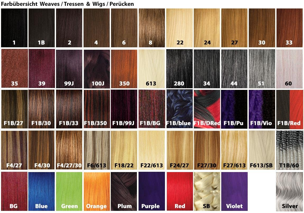 X pression hair colors