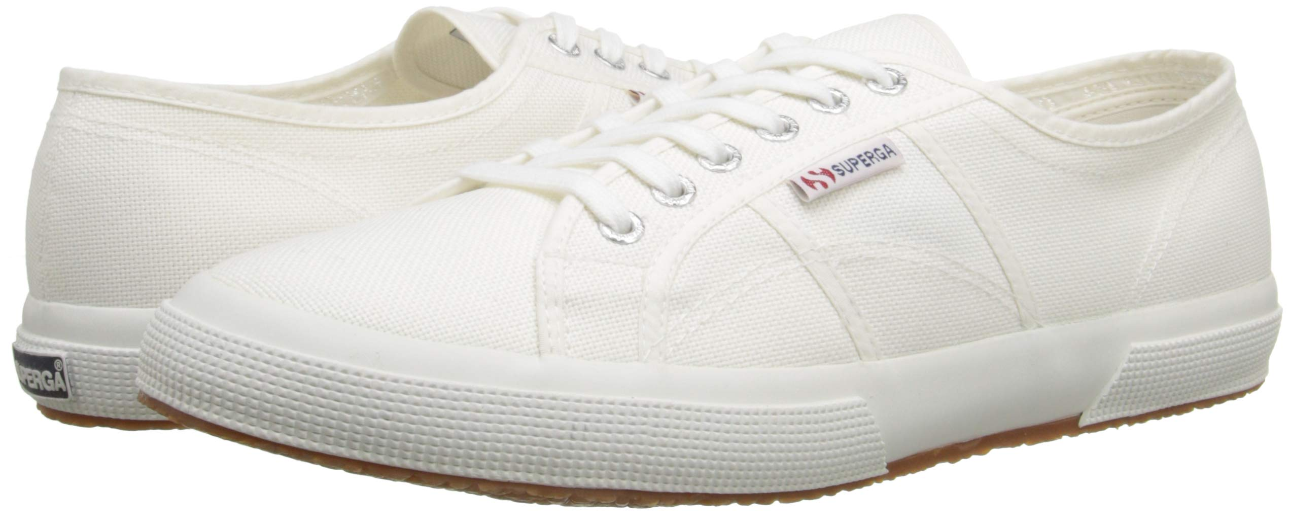 Superga 2750 Cotu Classic, Unisex Adults' Low-Top Sneakers, White, 7.5 UK (41.5 EU) by Superga (Image #6)