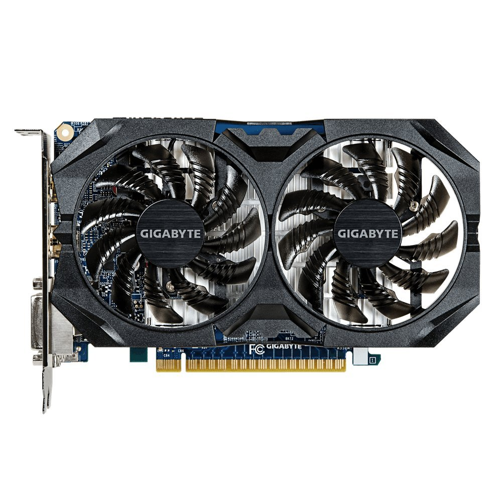Gigabyte GV-N75TOC 2-2GI Carte Graphique Nvidia GeForce GTX 750 Ti 1059 MHz 2 Go PCI-Express GV-N75TOC2-2GI