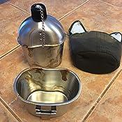 Amazon.com: Pinty - Cantimplora de acero inoxidable estilo ...