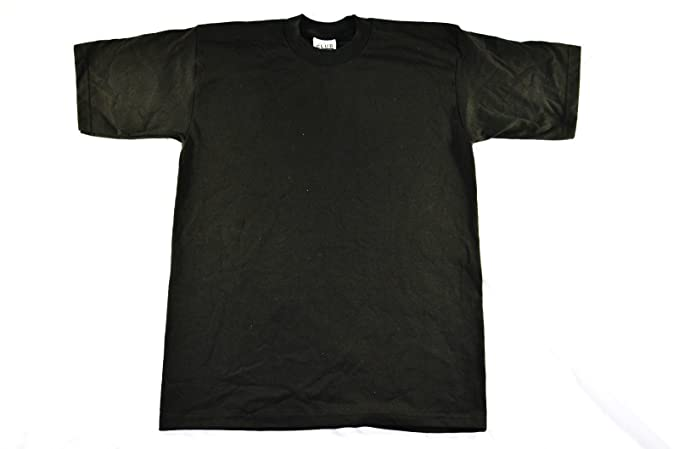 f2bd1035 Amazon.com: Pro Club Heavyweight T-Shirt XL Black (Various Sizes ...