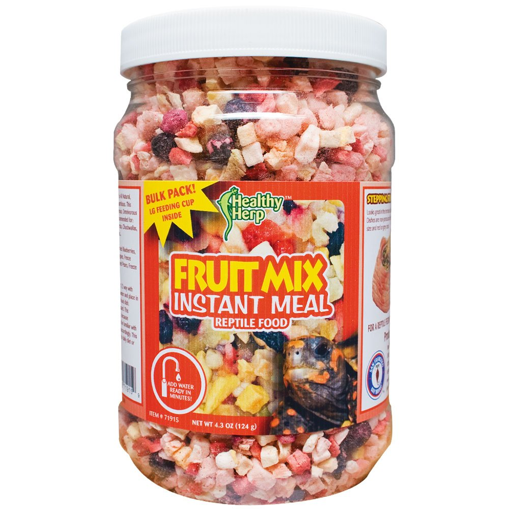 Healthy Herp Fruit Mix Instant Meal 3.5-Ounce (99.23 Grams) Jar by Healthy Herp