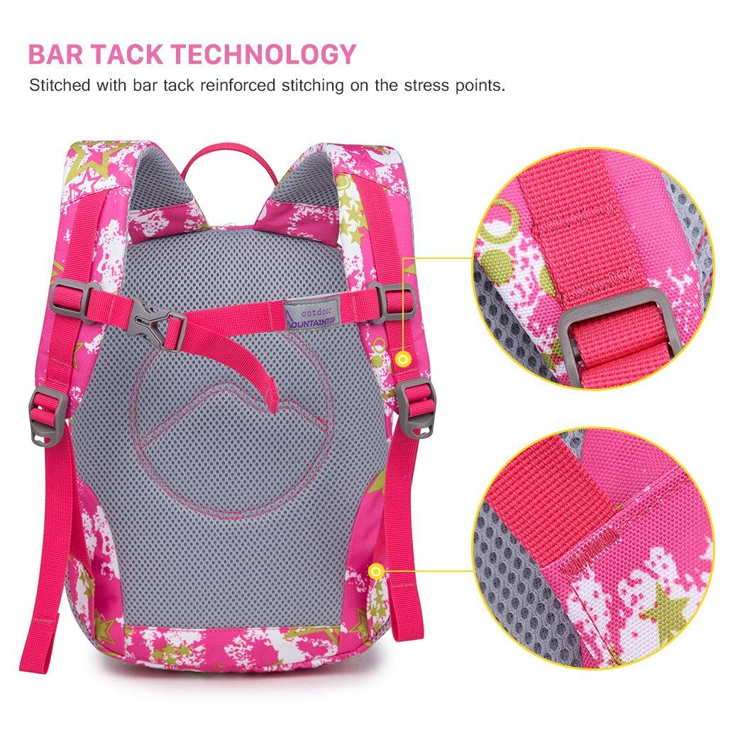 Mountaintop Little Kid /& Toddler Backpack for Pre-School and Kindergarten 24 x 31 x 14.5CM