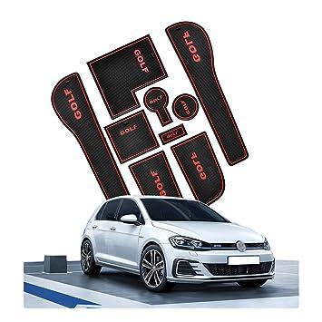 site web pour réduction Braderie prix le plus bas CDEFG VW Golf VII Accessoires, Golf 7 R GTD GTI GTE Tapis, Auto Tapis  Anti-poussière Antidérapante, Coupe Porte Intérieure Tasse Boîte de Bras  Tapis ...