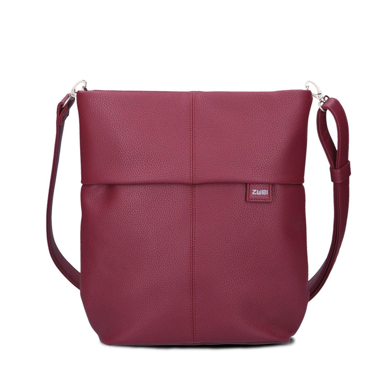 Två Mademoiselle M12 handväska Canvas-röd