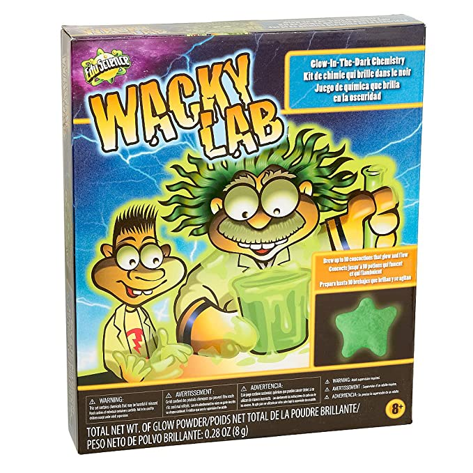 Amazon.com: Edu Ciencia Wacky Lab brillan en la oscuridad La ...