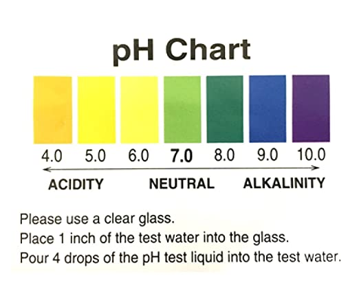 Amazon.Com: A2O Water Ph Test Liquid (100-125 Tests): Home & Kitchen