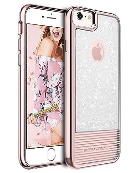 BENTOBEN Funda iPhone 6S, iPhone 6 Funda, Carcasa Case Cover Rutilar Suave TPU Ultra Fina [Protección a Bordes y Cámara] Funda para iPhone 6S / iPhone ...