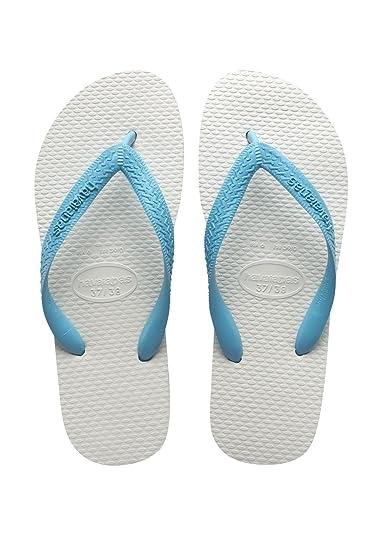Havaianas Unisex-Erwachsene Brasil Mix Zehentrenner, Türkis (Turquoise), 39/40 EU (37/38 Brazilian)