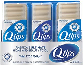 product image for Q-tips Cotton Swabs (625 ct., 2 pk.; 500 ct., 1 pk.)