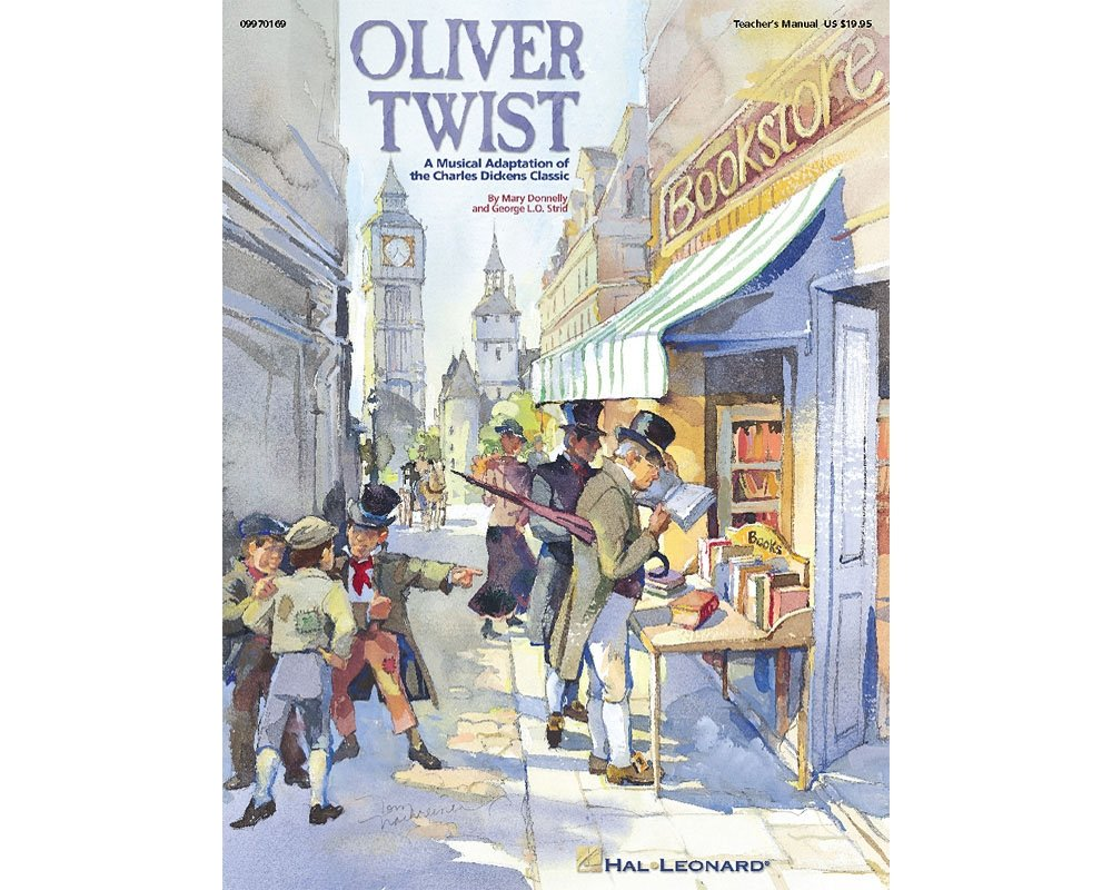 Download Hal Leonard Oliver Twist - A Musical Adaptation of the Charles Dickens Classic (Musical) TEACHER ED by Mary Donnelly PDF