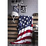 Plaid USA - Drapeau Américain - 125x150