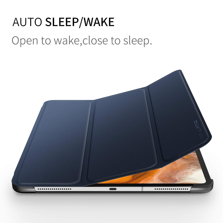 Auto R/é veil//Sommeil, Support Apple Pencil Charging Infiland iPad Pro 12,9 2018 Coque Case Gris Smart Cover Housse /É tui de Protection avec Support Multi-Angle pour iPad Pro 2018 12.9 inch