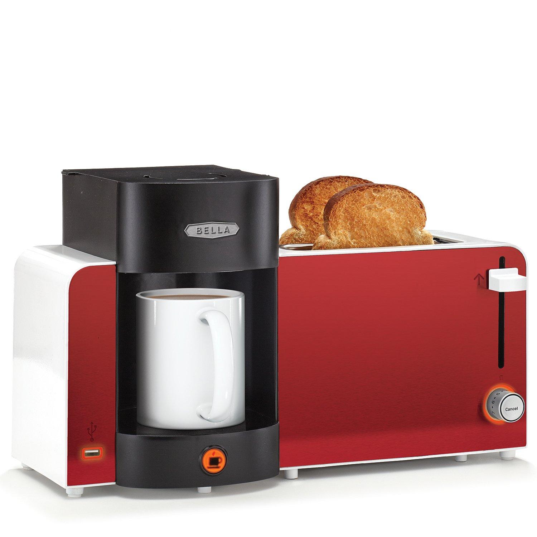 KitchenSmith by Bella Coffee Maker Toast Bundle