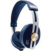 URBN Thump 500 MS Dhoni Edition Bluetooth Wireless Headphone with HD Sound Deep Bass and Built-in Microphone (Blue)