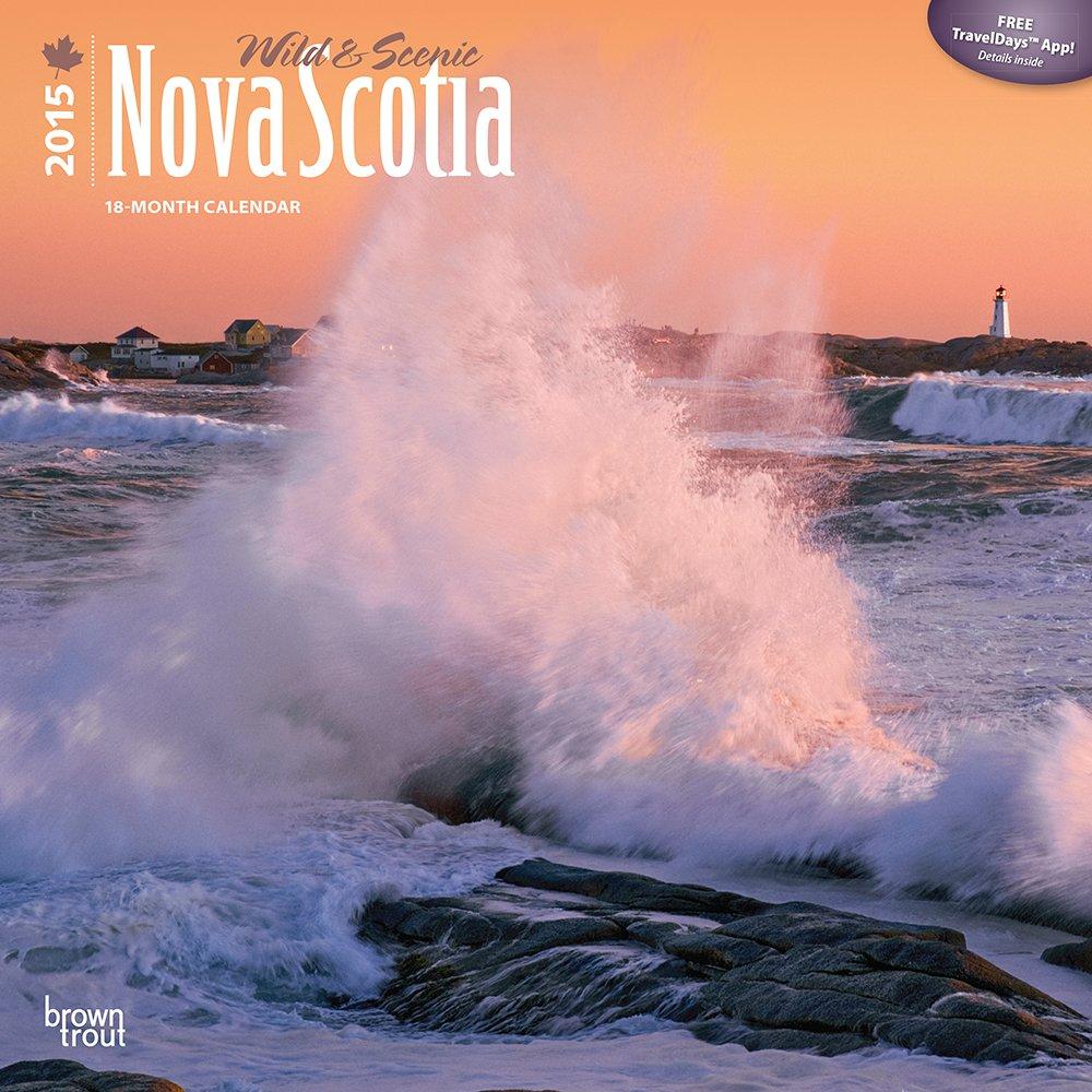 Nova Scotia, Wild & Scenic 2015 Square 12x12 (Multilingual Edition)