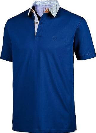 new style 1d7ac cb2cf Franco Bettoni Herren Poloshirt in dunkelblau, Polo-Hemd ...