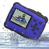 Digital Camera for Kids, Vmotal Kids Waterproof Camera, 2.0 Inch TFT Display Children Kids Digital Camera (Blue)