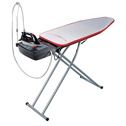 Genial Leifheit Air Active L Steam Ironing System With Iron, Ironing Board And  Integrated Steam