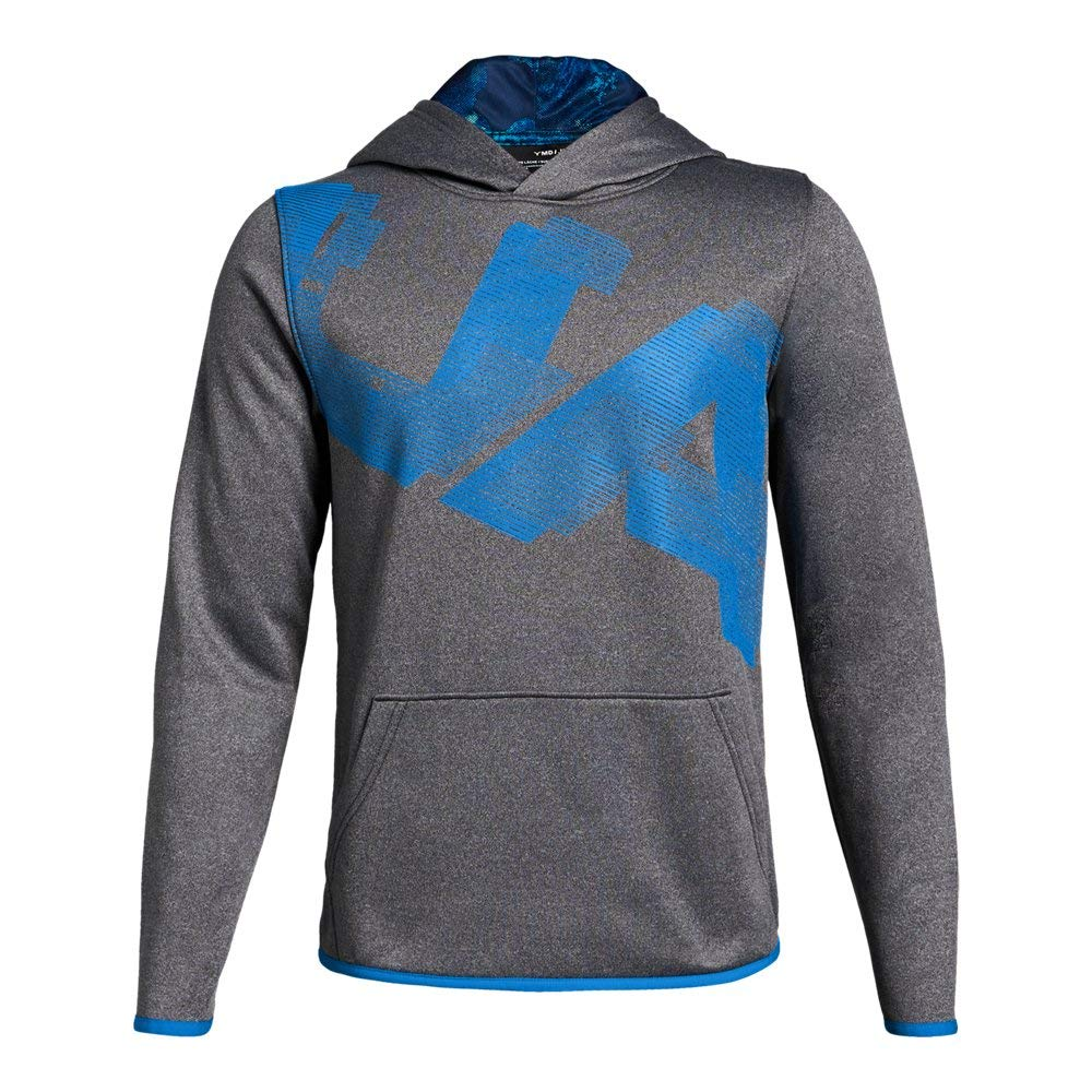 Under Armour Armour Fleece Printed YSM Charcoal Light Heather by Under Armour