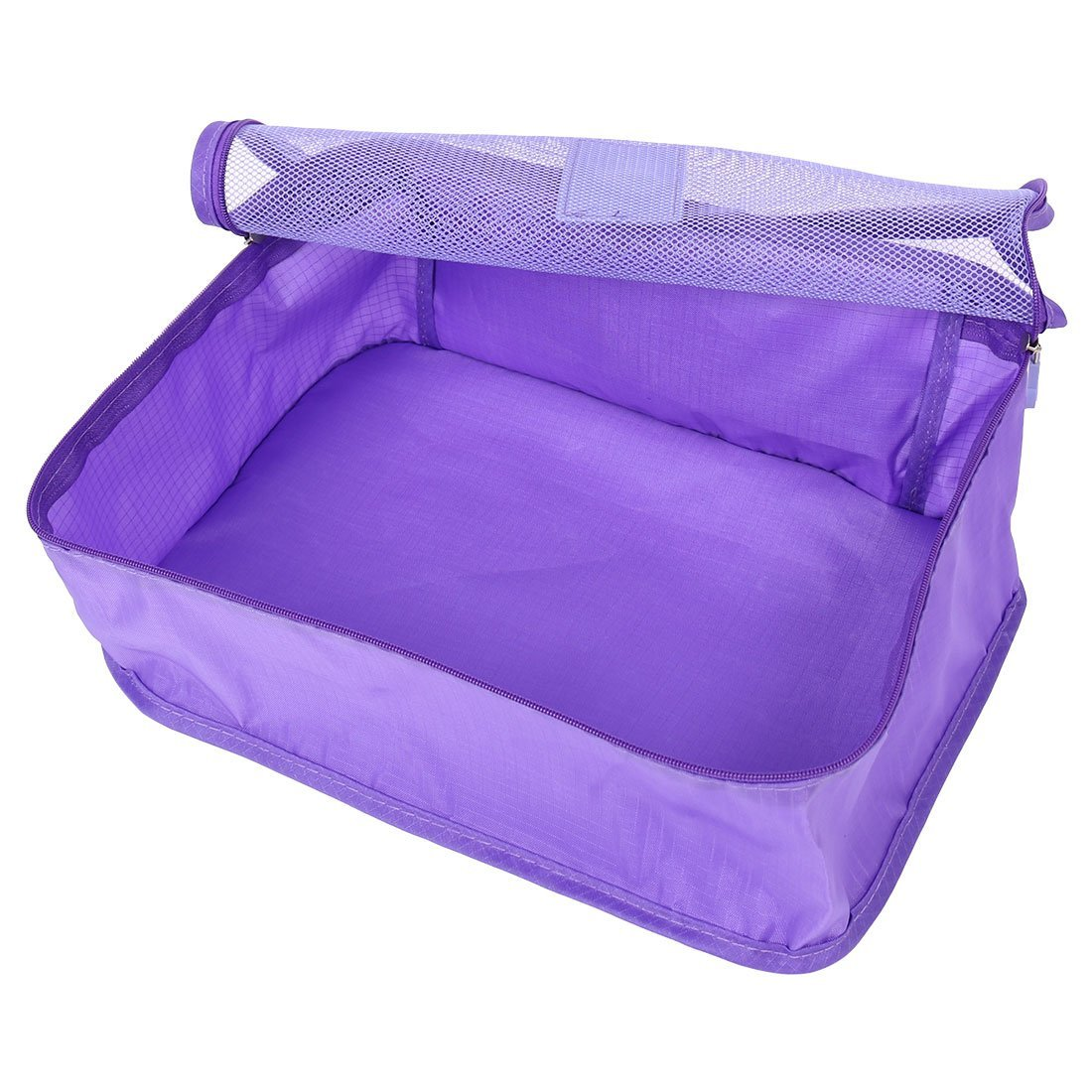 Amazon.com: eDealMax Exterior Con cremallera cosméticos Calcetines Underware equipaje de embalaje del organizador del almacenaje del recorrido del bolso 6 ...