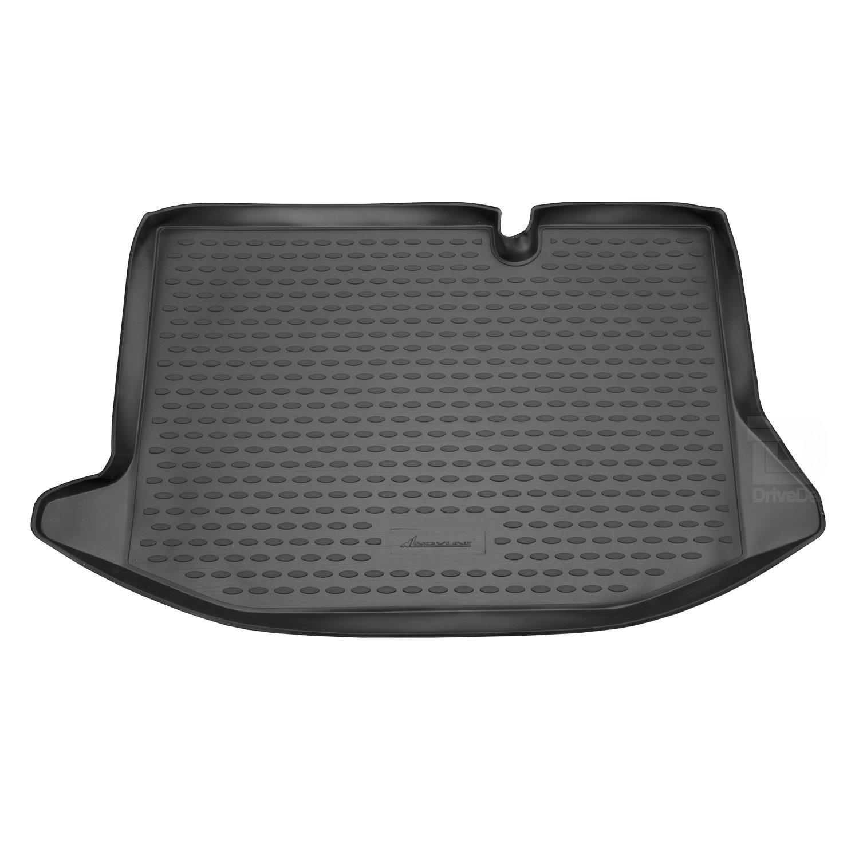 Novline MAT013 Custom Tailored Fit Black Rubber Boot Liner Tray Mat