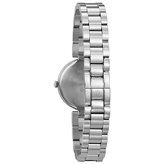 Bulova Diamond Classic 96L229 - Reloj de Pulsera de Diseño Elegante para  Mujer - Acero Inoxidable - Esfera de Nácar  Amazon.es  Relojes a1b72cb2ff0d