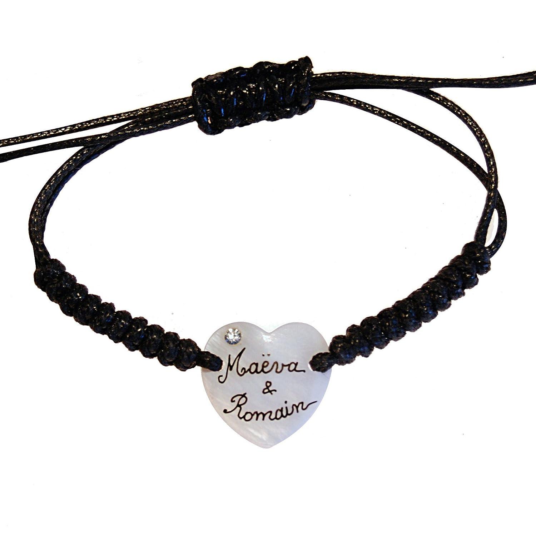 Bracelet nacre prenom