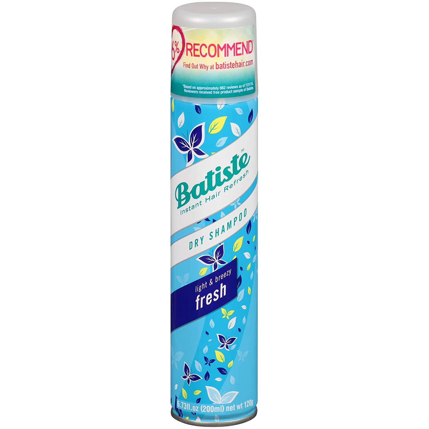 Batiste - Dry Shampoo Fresh - 200ml 87076
