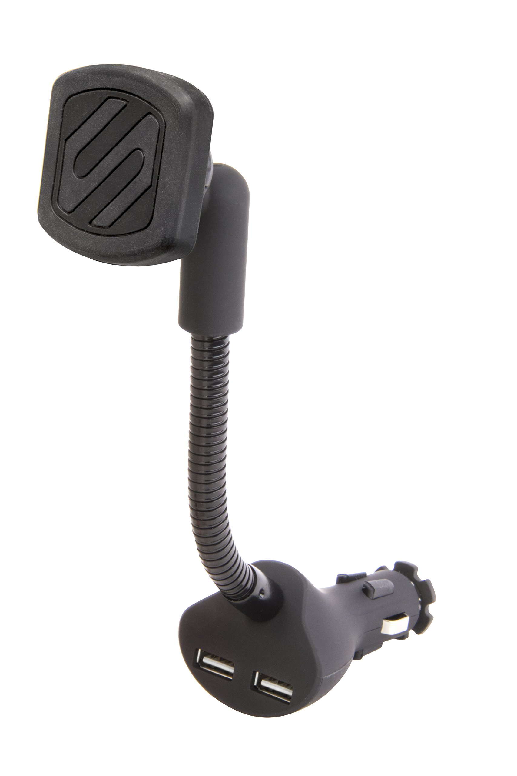 SCOSCHE MAGC242 MagicMount Magnetic Phone/GPS Power Outlet Mount for The Car