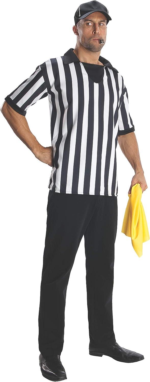 Rubies s Disfraz héroes y Hombres Adultos Camiseta de árbitro y ...